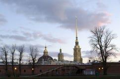 La fortezza a St Petersburg Fotografia Stock Libera da Diritti