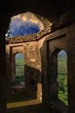 La fortificazione antica Immagine Stock