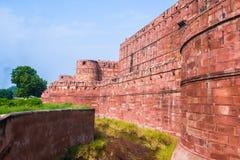 La fortificazione di Agra Fotografia Stock