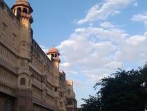 la fortificazione di Bikaner ? chiamata junagrah immagine stock