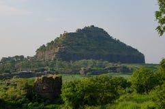 La fortificazione di Devagiri-Daulatabad Immagine Stock Libera da Diritti