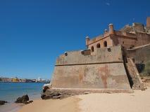La fortificazione di São Joao fa Arade Immagine Stock