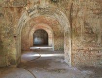La fortificazione Pickens incurva 3 Fotografia Stock