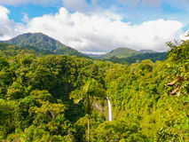 La Fortuna de San Carlos waterfall Royalty Free Stock Images