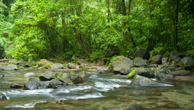 La Fortuna river Stock Photography