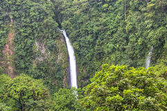 La Fortuna Waterfall in Arenal National Park, Costa Rica Royalty Free Stock Photos