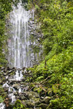 La Fortuna Waterfall in Arenal National Park, Costa Rica Royalty Free Stock Image