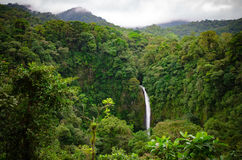La Fortuna waterfall Stock Photo