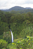 La Fortuna Waterfall Panorama Royalty Free Stock Photography