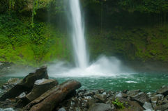 LA Fortuna waterfall Stock Image