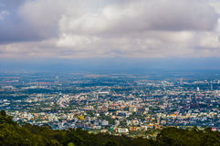 La foschia in montagna su Chiang Mai Fotografie Stock