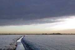 La fossa olandese Immagini Stock