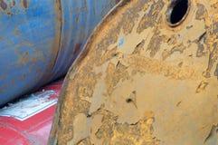 Bidones de aceite Imagen de archivo libre de regalías
