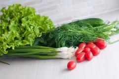 La foto de los veggies crudos foto de archivo