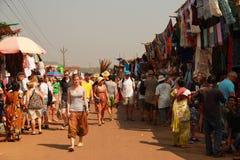 Mercado en la India imagen de archivo