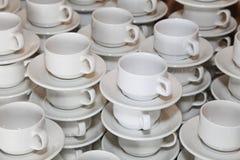 La foto que coloca de cerca la porcelana blanca diagonal de las filas junta asalta Foto de archivo libre de regalías
