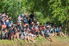 La FOTOGRAFIA PRENDE 29 agosto 2016 la FOTO, TAILANDIA: digi professionale Fotografie Stock Libere da Diritti