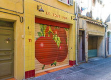 La Four Pop Restaurant La Ciotat Stock Image