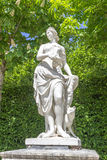 La Fourberie, Louis Lecomte, 1685. In Versailles Garden Stock Photography