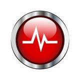 Signe de fréquence cardiaque illustration libre de droits