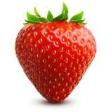 La fraise a isolé photos stock