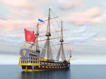 La francês Sirene da capitânia Imagem de Stock