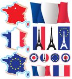 la France Images stock