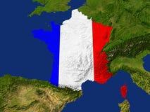la France Photo libre de droits