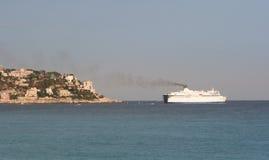 La France agréable, Cote Azur image stock