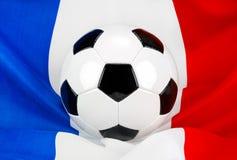 La France aime le football Photographie stock libre de droits