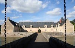 La France Château Plessis-Bourre Images stock