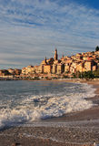 La France Cote d'Azur Menton Photo stock