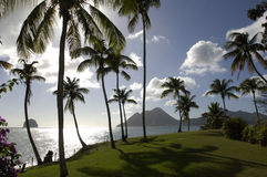 La France, la Martinique, roche de diamont photos libres de droits