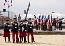 La France, Montpellier - victoire dans le défilé de jour de l'Europe photos libres de droits