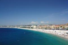 La France, Nice, Côte d Azur. Image stock