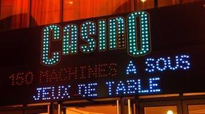 La France, Nice : casino images stock