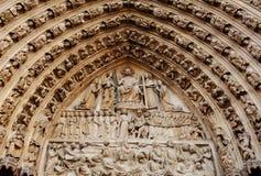 La France, Paris : Cathédrale de Notre Dame Photo libre de droits