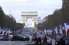 La France ; Paris ; la visite de Shimon Peres Photo stock
