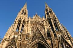 La France Rouen : la cathédrale gothique de Rouen Images libres de droits
