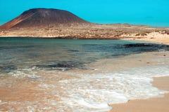 La Francesa Beach in La Graciosa, Canary Islands, Spain Stock Photo
