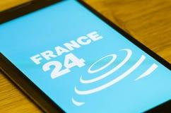 La Francia 24 Fotografia Stock