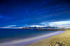 La Francia, Alpes Maritimes, baia di Cann Fotografia Stock