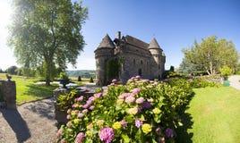 La Francia, Alvernia, d'Auzers del castello Immagini Stock Libere da Diritti