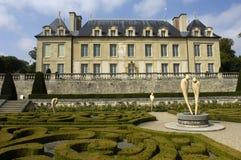 La Francia, castello del sur Oise di Auvers immagine stock libera da diritti