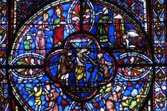 La Francia, cattedrale di Bourges fotografia stock