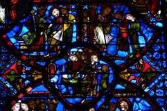 La Francia, cattedrale di Bourges immagine stock