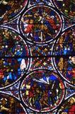 La Francia, cattedrale di Bourges Immagini Stock Libere da Diritti