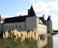 La Francia Château Plessis-Bourre Fotografia Stock