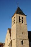 La Francia, chiesa Saint Eloi in Les Menuls Immagine Stock