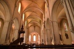 La Francia, città pittoresca di Sancerre in Cher fotografie stock libere da diritti